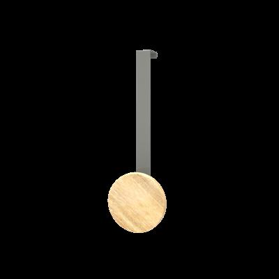 Over The Door Hooks Long - Oak - Image 1