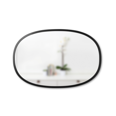 Hub Mirror Oval 61 x 91 cm - Black - Image 2