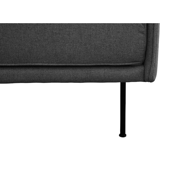 Emerson 3 Seater Sofa - Charcoal Grey - 5