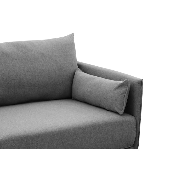 Emerson 3 Seater Sofa - Charcoal Grey - 4