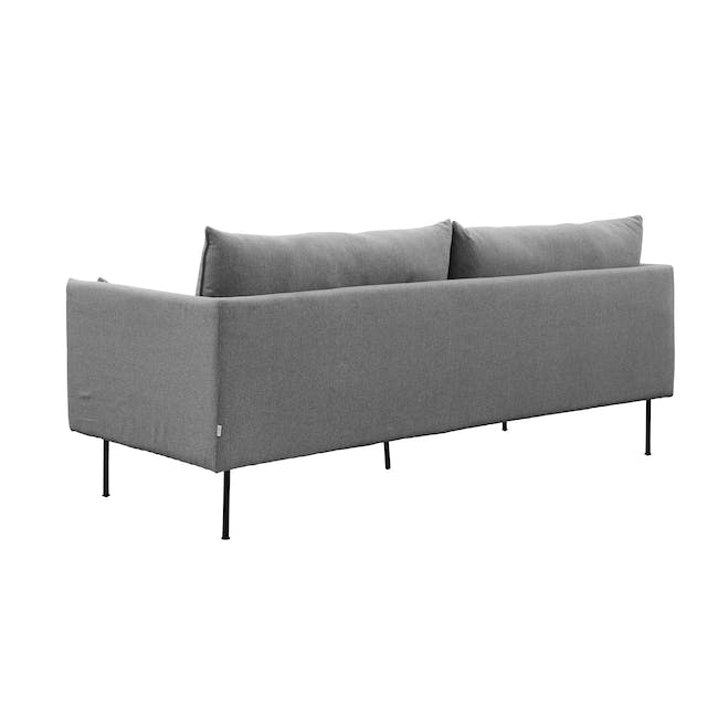 Emerson 3 Seater Sofa - Charcoal Grey - 2