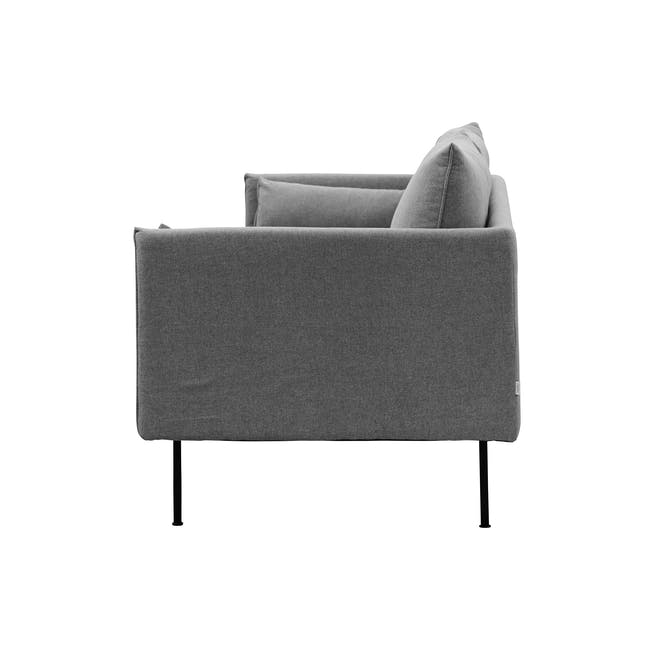 Emerson 3 Seater Sofa - Charcoal Grey - 3