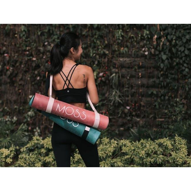 MOSS 2-in-1 Yoga Mat - Aurora - 2