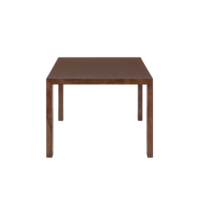 Clarkson Dining Table 2.2m in Cocoa with 4 Fabian Chairs in Cocoa, Dolphin Grey - 4