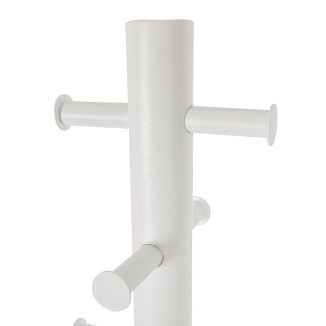 Pillar Coat Rack - White - 2