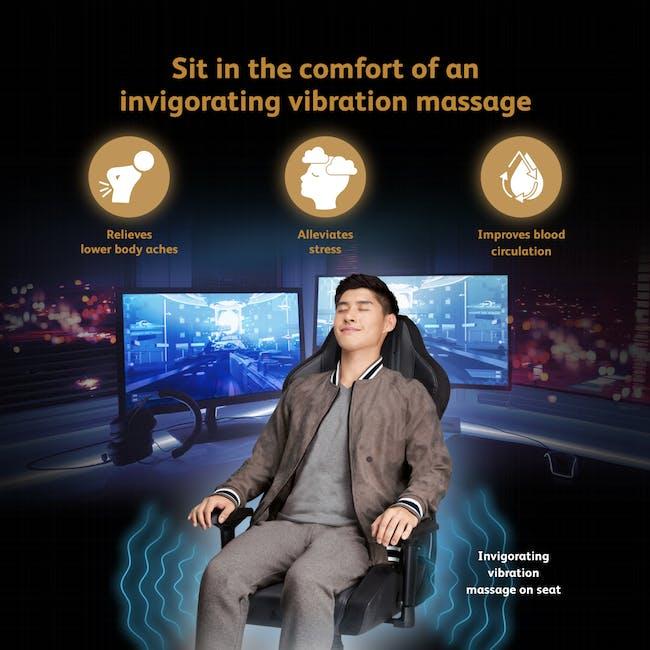 OSIM x Marvel uThrone S Massage Chair with Customizable Massage - Self Assembled - Black - 2