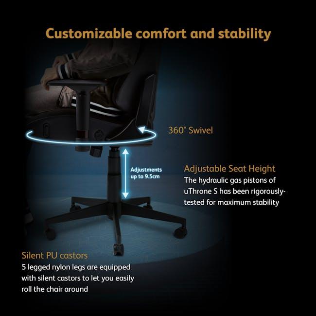 OSIM x Marvel uThrone S Massage Chair with Customizable Massage - Self Assembled - Black - 7