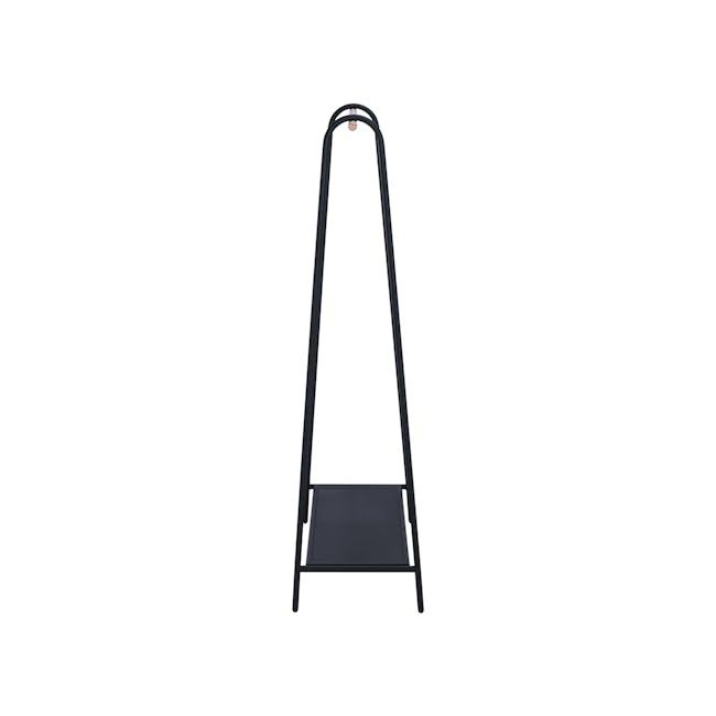 Haben Clothes Rack - Matte Black - 3