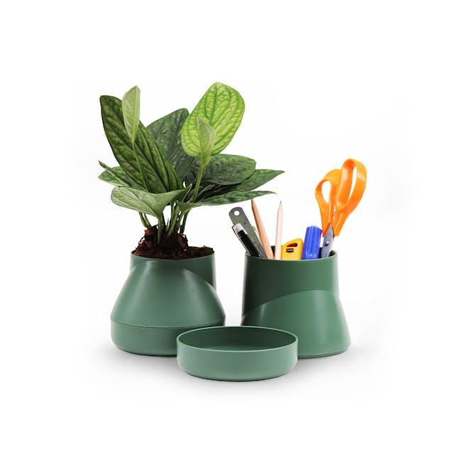 Large Hill Pot - Olive - 2