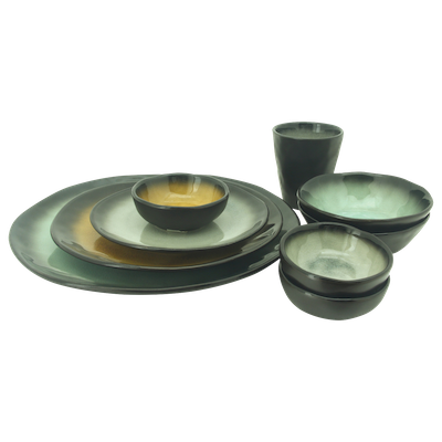 Lilac Small Dinner Plate - Grey (Set of 6) - Image 2