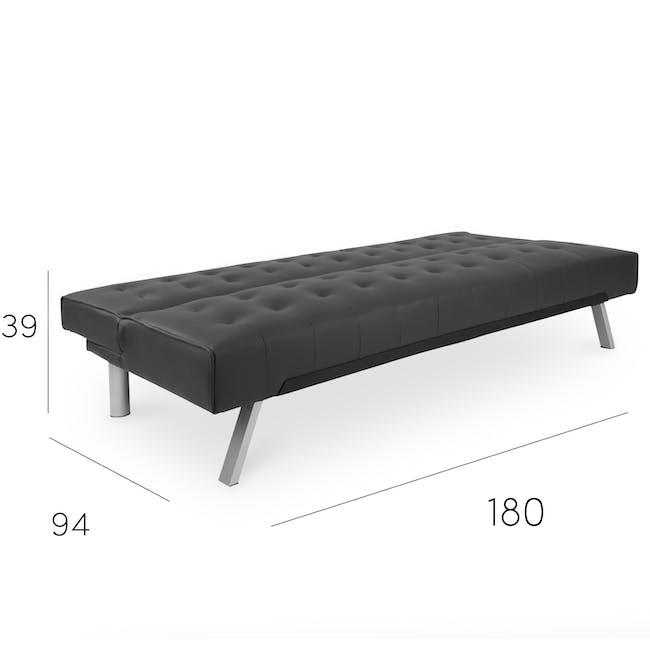 Julia Sofa Bed - Hailstorm (Fabric) - 7