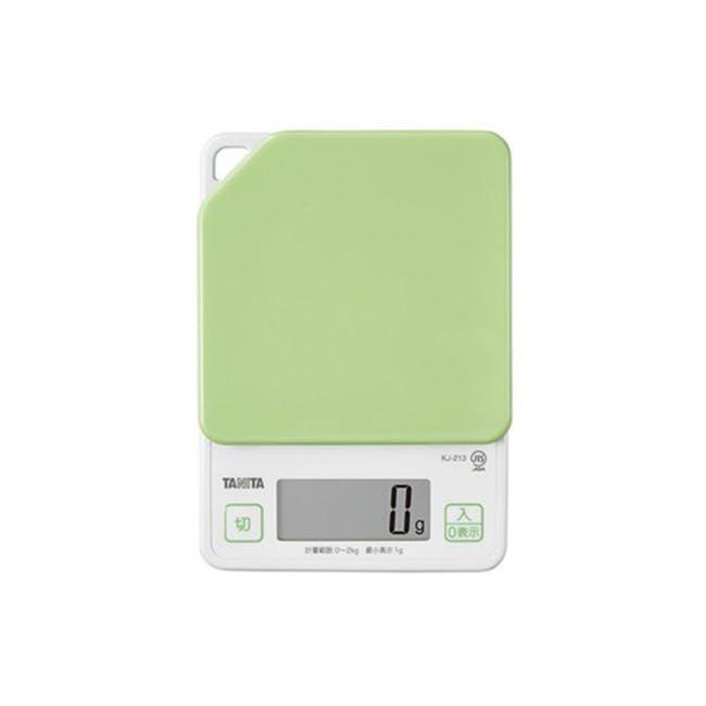 Tanita Digital Kitchen Scale with Hanging Hook - Green - 0
