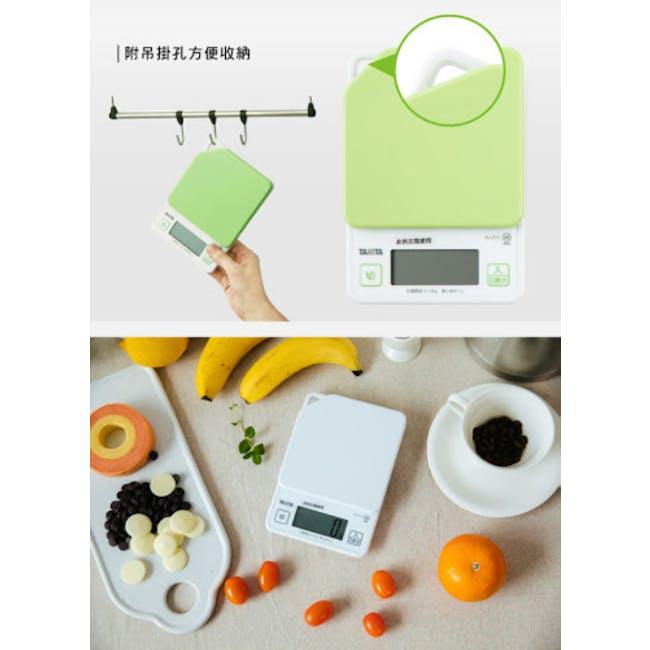 Tanita Digital Kitchen Scale with Hanging Hook - Green - 5