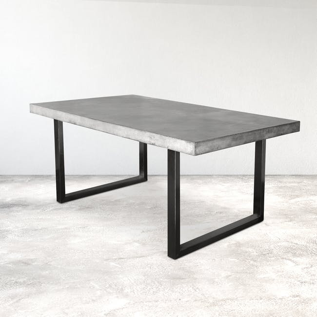 Titus Concrete Dining Table 1.8m - 1