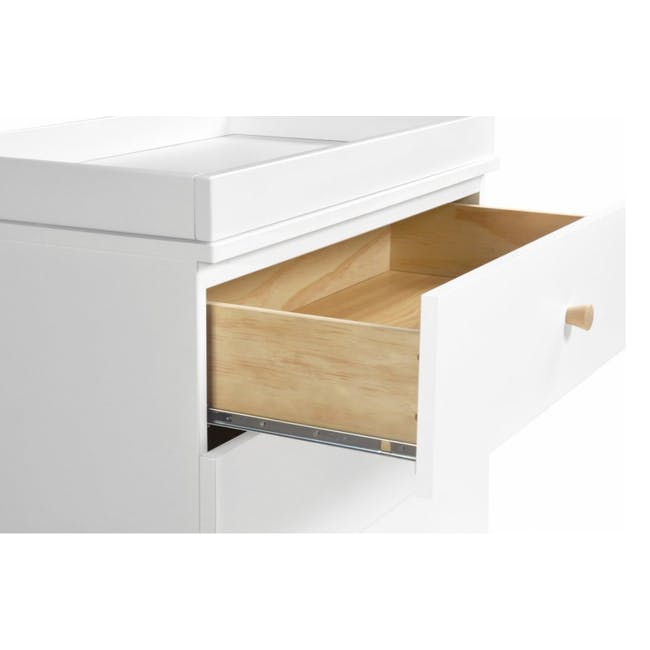 Babyletto Gelato 3-Drawer Dresser with Removable Changing Tray - White - 2