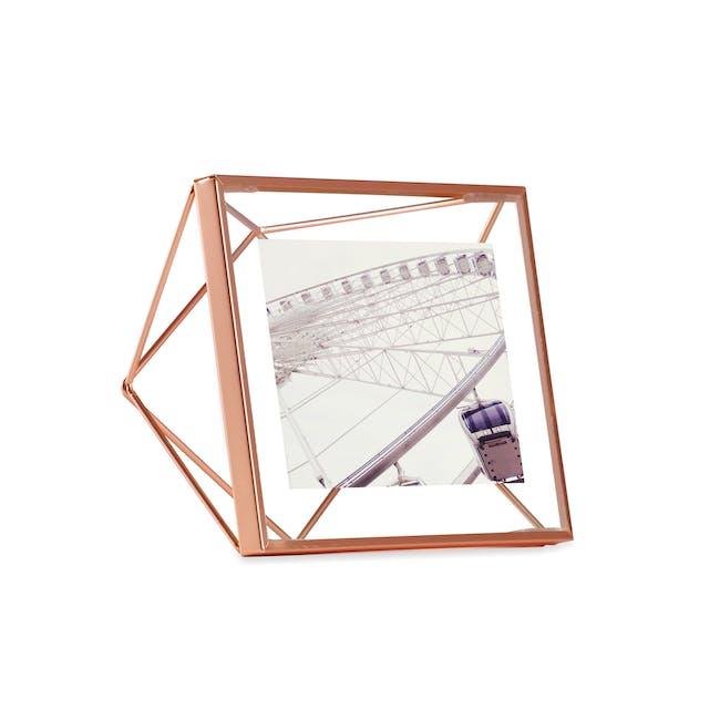 Prisma Square Photo Display - Copper - 0