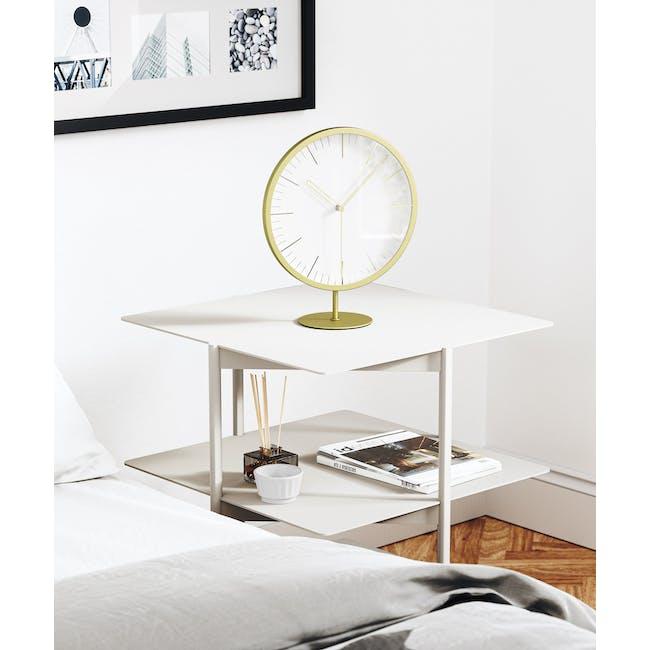 Infinity Round Clock - Brass - 7