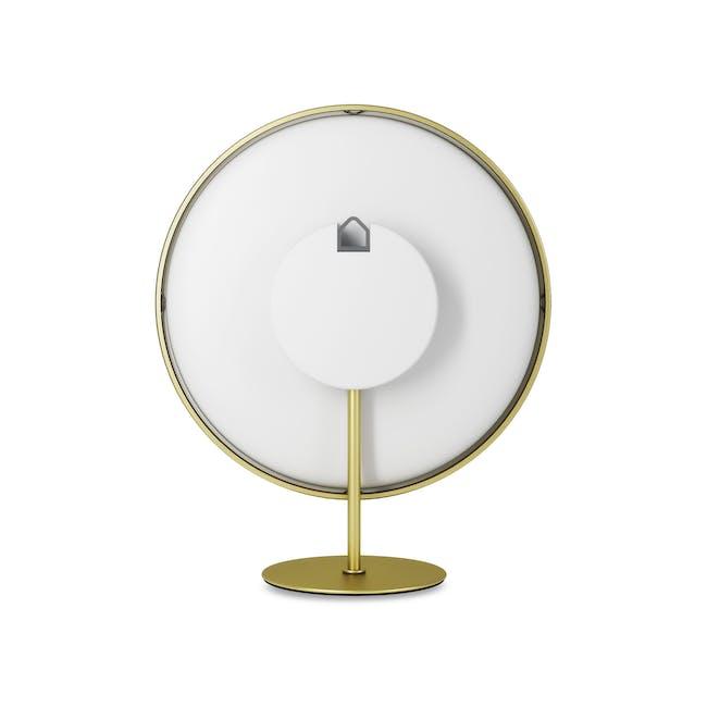 Infinity Round Clock - Brass - 5