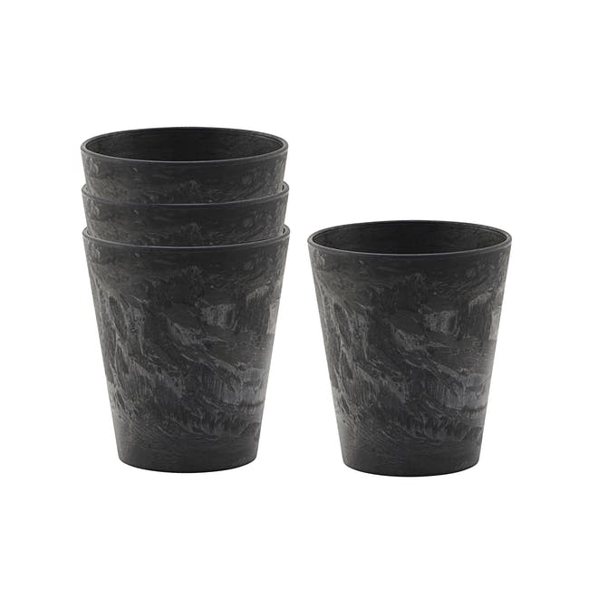 Serveur Mug - Black (Set of 4) - 0