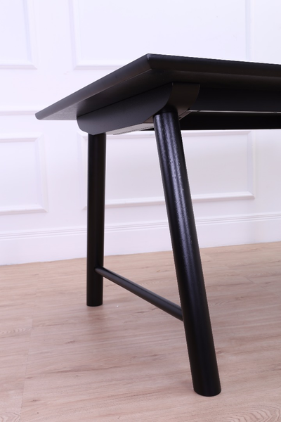 Ernest Dining Table 1.5m - Black - Image 2