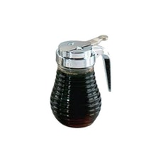 Glass Beehive Syrup Dispenser