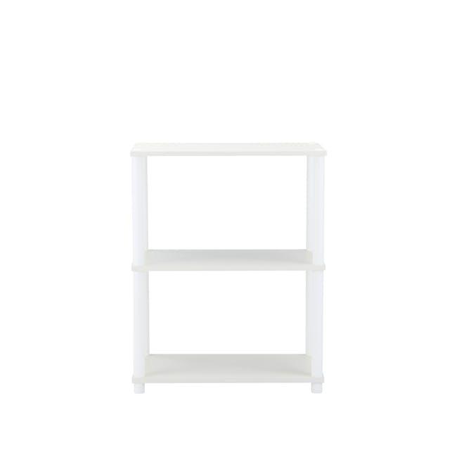Brock 3-Tier Shelf - White - 3