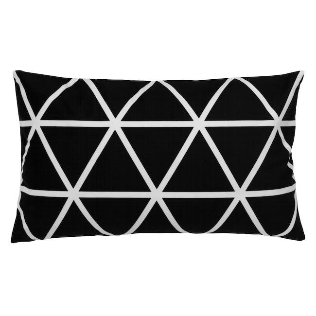 Geo Lumbar Cushion Cover - Diamond - 0