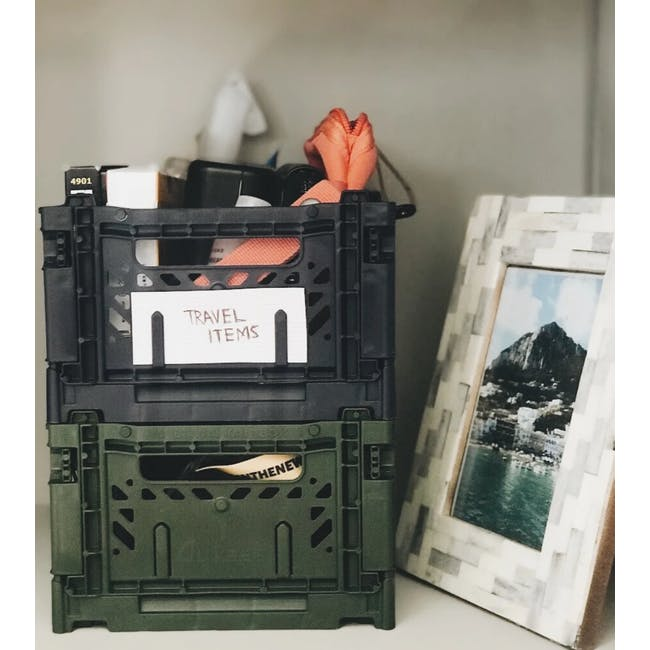 Aykasa Foldable Minibox - Khaki Green - 7