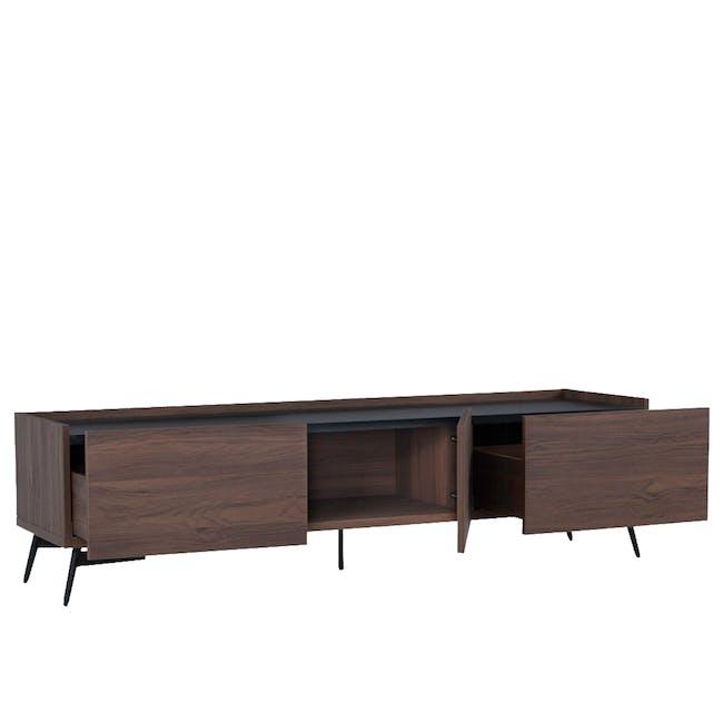 Lennox TV Console 1.8m with Yuri Storage Coffee Table - Oak - 3