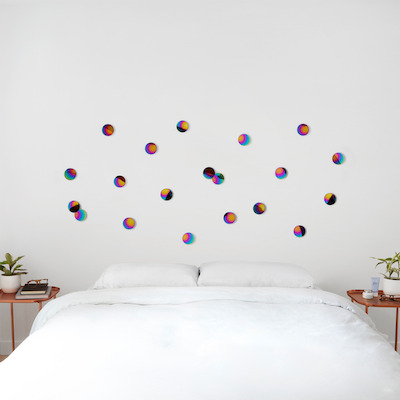 Confetti Dots Wall Decal (Set of 10) - Rainbow - Image 2
