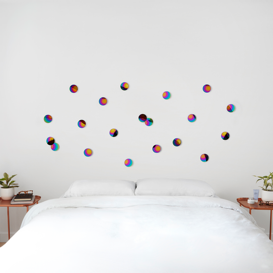 Umbra - Confetti Dots Wall Decal (Set of 10) - Rainbow