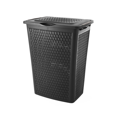 50L Laundry Hamper - Coffre Black - Image 1