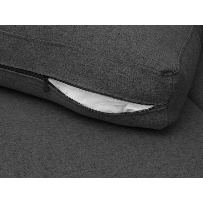 Mia L-Shaped Storage Sofa Bed -  Graphite - 11