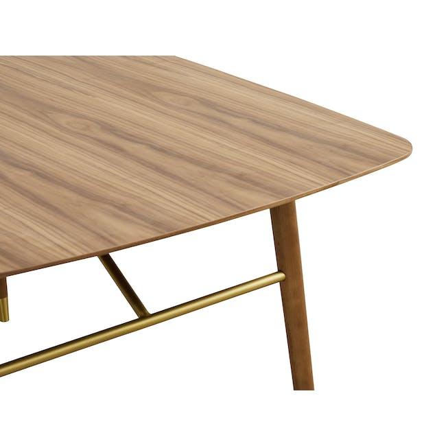 Hagen Dining Table 1.6m - Walnut - 3
