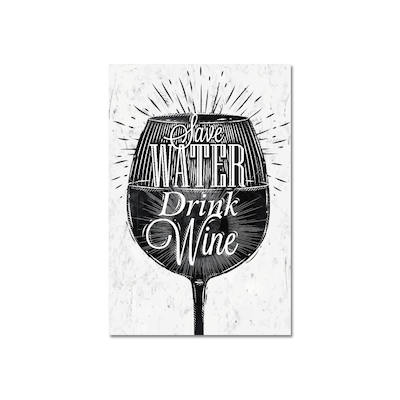 Drink Wine Print Poster - Image 2