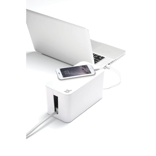 Bluelounge CableBox Mini - White - 1