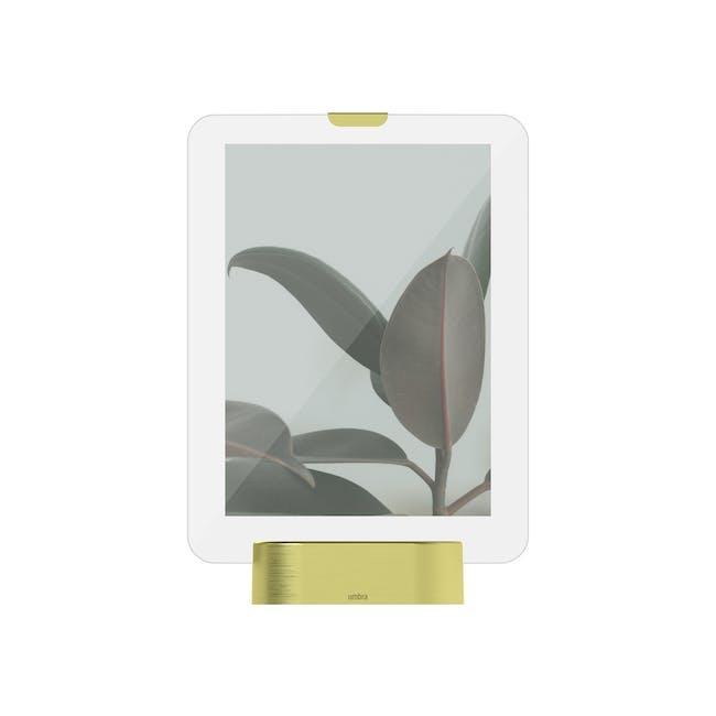 Glo 5 x 7 Photo Display - Brass - 0
