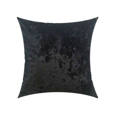 VELVET Cushion Cover - Black - Image 2