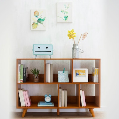 Retro Square Book Cabinet - Image 2