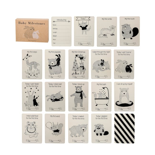 Baby Milestones Event Cards (Pack of 18) - 0