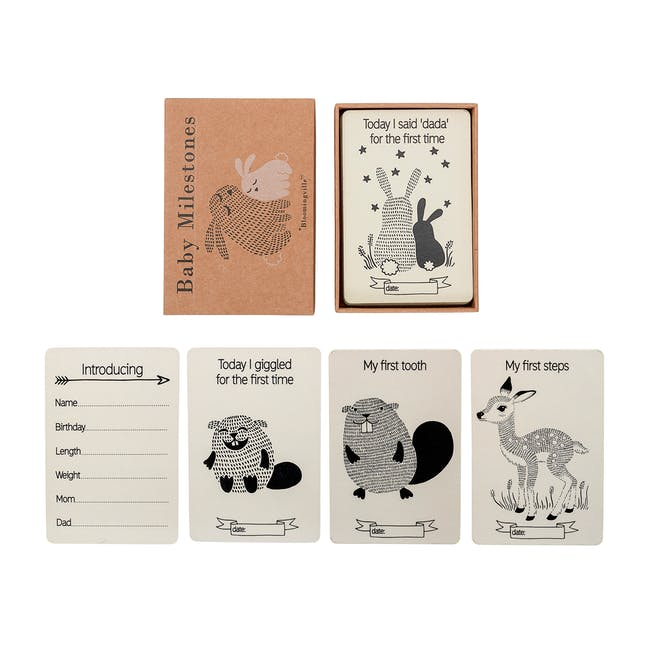 Baby Milestones Event Cards (Pack of 18) - 1