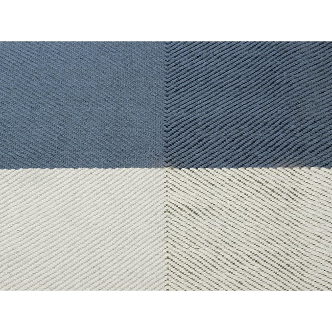Array Flatwoven Rug 2.4m by 1.7m - Blue - 1