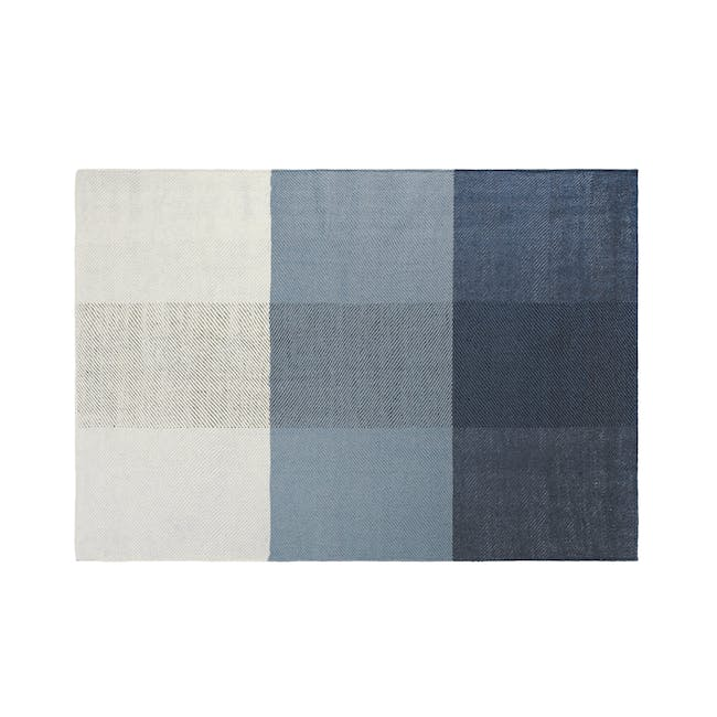 Array Flatwoven Rug 2.4m by 1.7m - Blue - 0