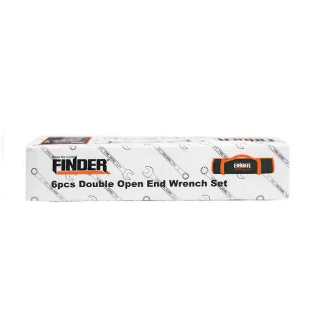 FINDER 6pcs Double Open End Matt Finish Wrench Set - 2