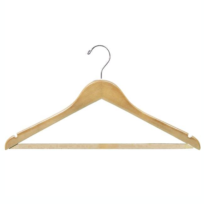 Wooden Hanger - Natural - 0