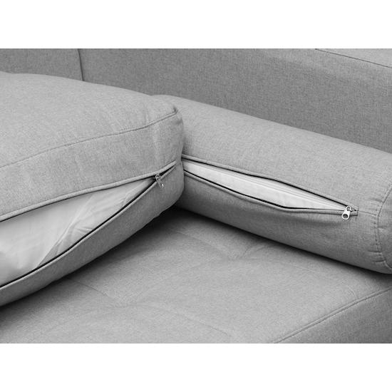 AK Avantgarde - Nolan 3 Seater Sofa - Slate (Fabric)