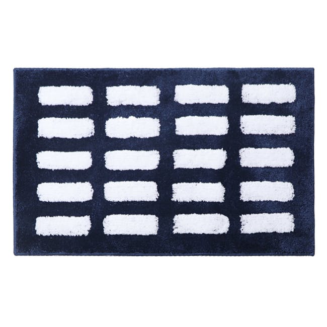 Nordic Dash Floor Mat - Navy - 0