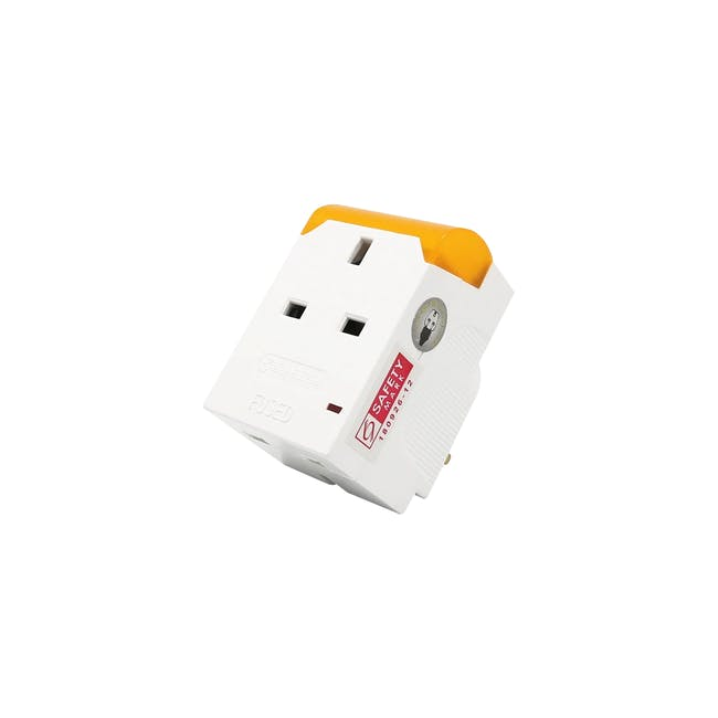 SOUNDTEOH LED Night Light With Multiway Adaptor - Warm White - 0