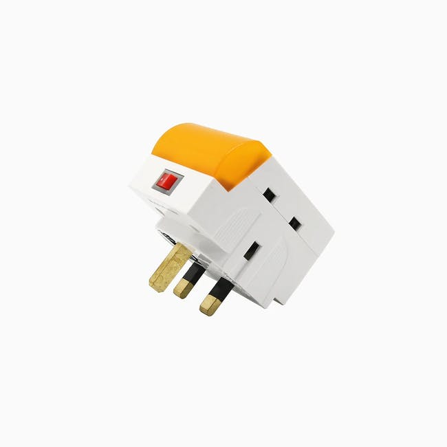 SOUNDTEOH LED Night Light With Multiway Adaptor - Warm White - 3