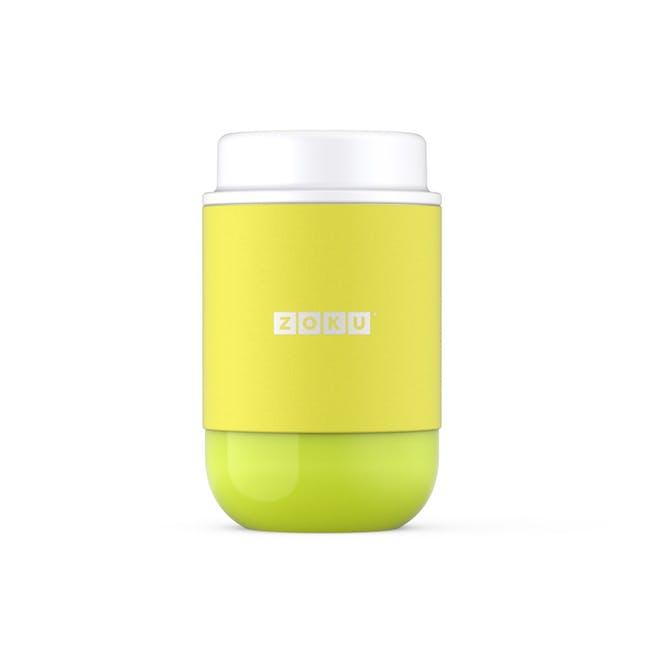 Zoku Neat Stack Food Jar 16oz - Lime Green - 0